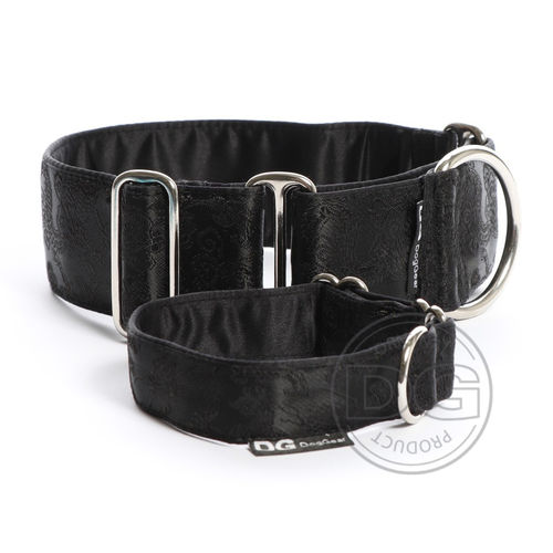Halsband Martingale:   Black Dragons   DG DogGear