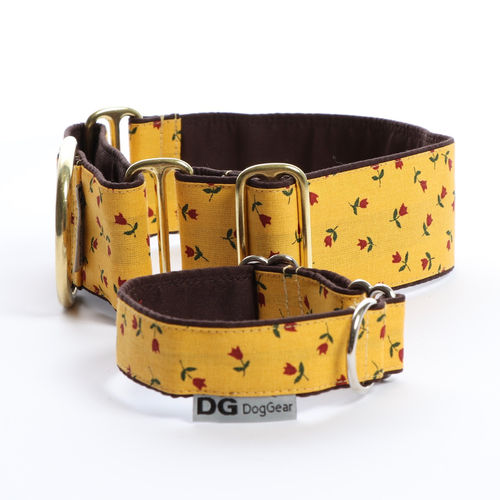 Halsband Martingale:   Summer Tulips   DG DogGear